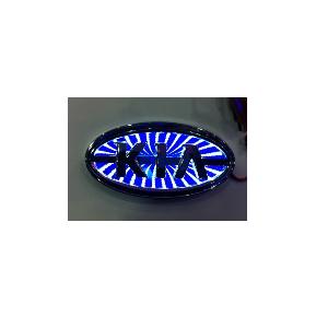 3D Emblem KIA 11.9 cm x 6.2 cm